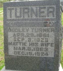 Mattie Henrietta <I>Long</I> Turner