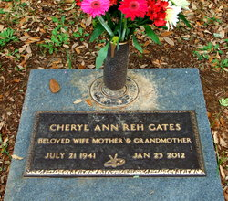 Cheryl Ann <I>Reh</I> Gates