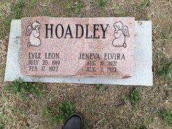 Jeneva Elvira Belle Hoadley