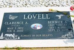 Bernice Agnes Lorine <I>Towle</I> Lovell
