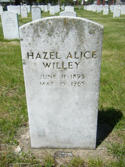 Hazel Alice Willey