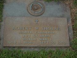 Robert Wooten Sholar