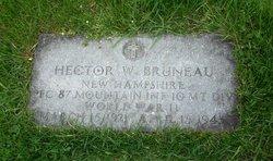 PFC Hector W Bruneau