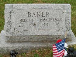 Rosalie <I>Fegan</I> Baker
