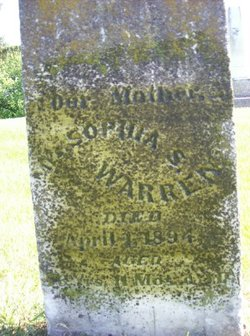 Sophia S. <I>Church</I> Warren