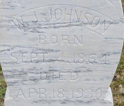 "William Jackson ""W.J."" Johnson"