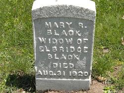 Mary R. <I>Snizer</I> Black