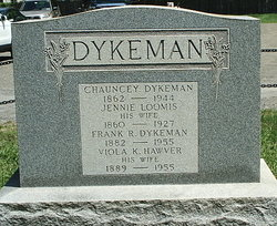 Viola K <I>Hawver</I> Dykeman