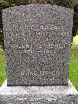 Mary <I>Huber</I> Fisher