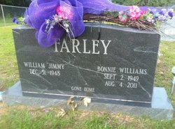 Bonnie Faye <I>Williams</I> Farley