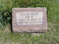 Paul Marvin Fenton