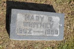 Mary H <I>Brown</I> Whitney