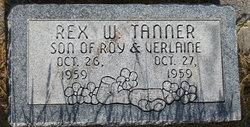 Rex W Tanner