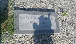 Mary Lou <I>Campbell</I> Bagwell