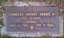 PFC Charles Henry Yerks, Sr