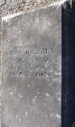 Marion Augustus Thomson