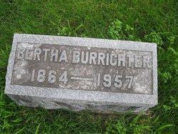 Bertha L <I>Wolf</I> Burrichter