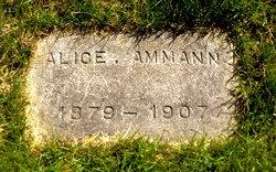 Alice A. <I>Hill</I> Ammann