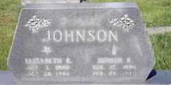 Elizabeth Maude <I>Rumley</I> Johnson
