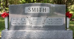 Myrtle A <I>McGinnis</I> Smith