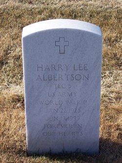 Harry Lee Albertson