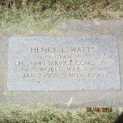 Henry Leroy Watts