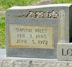 """Nancy Lee """"Nannie"""" <I>Spradley</I> Lockhart"""