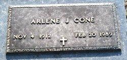 Clara Arlene <I>Johnson</I> Cone