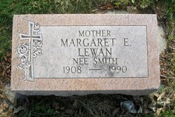 Margaret E. <I>Smith</I> Lewan