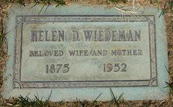 Helen D <I>Skelton</I> Wiedeman