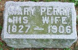 Mary <I>Perry</I> Pierce