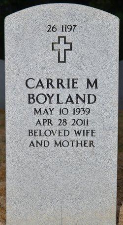 Carrie Mae <I>Brown</I> Boyland