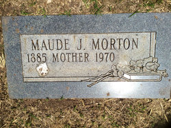 Maude Jane <I>Myers</I> Morton