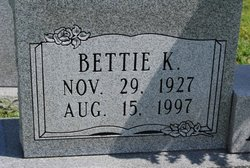 Bettie <I>Koon</I> Allen