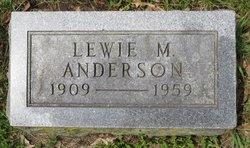 Lewie M. Anderson