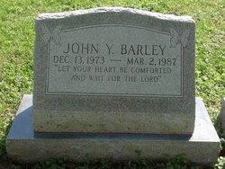 John Y Barley