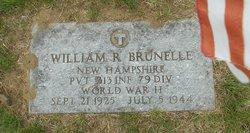 Pvt William R. Brunelle