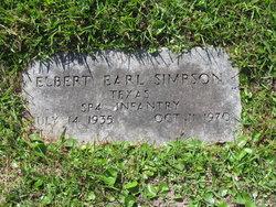 Elbert Earl Simpson