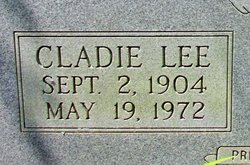Cladie Lee <I>Murphy</I> Foster