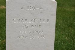 Charlotte F Crowley