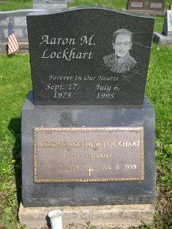 Pvt Aaron M Lockhart