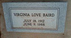 Virginia Love Baird