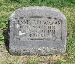 """Nancy Jane """"Jennie"""" <I>Allee</I> Blackman"""