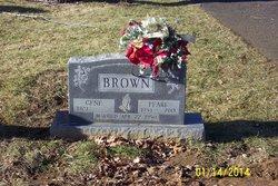 "Margaret Pearl ""Pearl"" <I>Thompson</I> Brown"