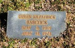 Helen <I>Kilpatrick</I> Babcock