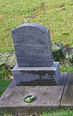 Elizabeth <I>Smith</I> MacLean