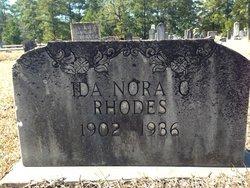 Ida Nora <I>Chance</I> Rhodes