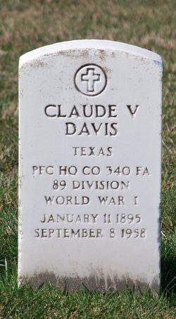 Claude V Davis