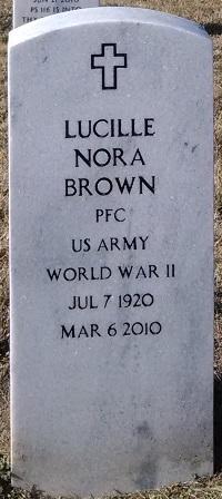 Lucille Nora <I>Godin</I> Brown