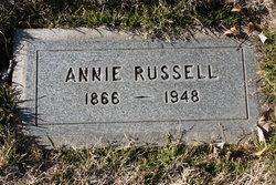 Annie <I>Marshall</I> Russell